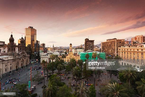 Chile, Santiago, City View