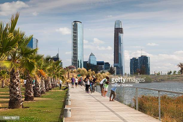 Chile, Santiago, Waterfront Park