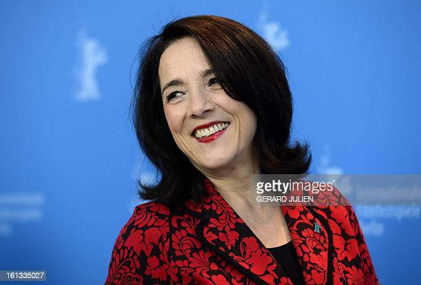 Chilean actress Paulina Garcia poses during a photocall for the film 'Gloria' presented in the Berlinale Competition of the 63rd Berlin International...