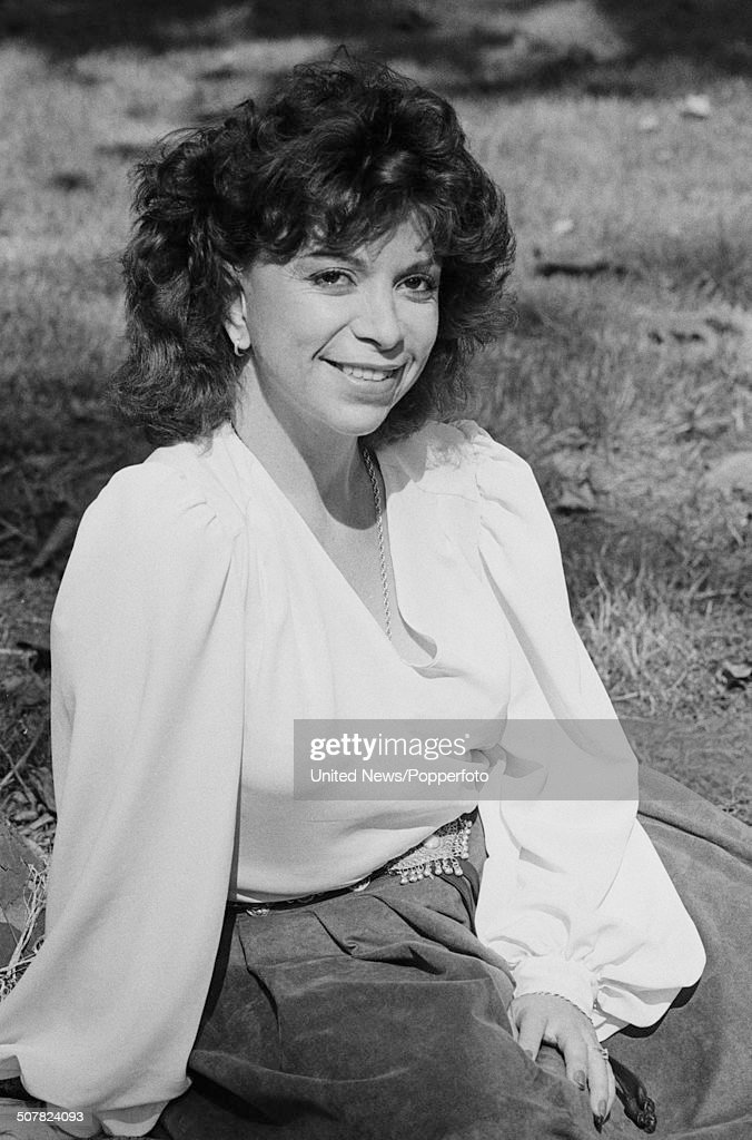 Chilean author Isabel Allende posed in London on 1st July 1985.