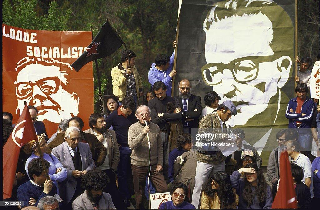 03 Nov  Dr. Salvador Allende becomes first Marxist President of Chile