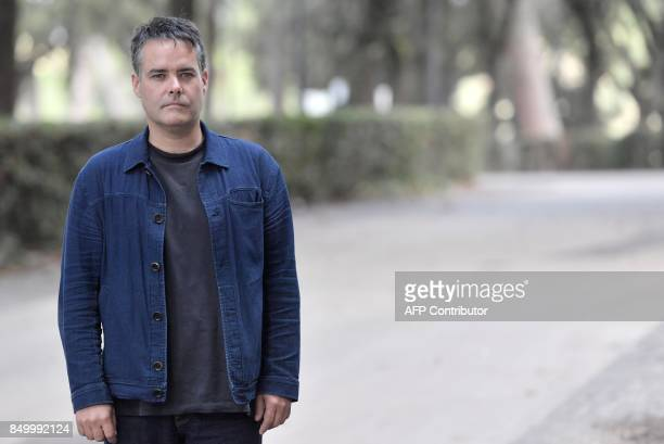 Chilean film director Sebastian Lelio poses during a photocall for his movie 'A fantastic woman'on September 20 2017 in Rome / AFP PHOTO / TIZIANA...