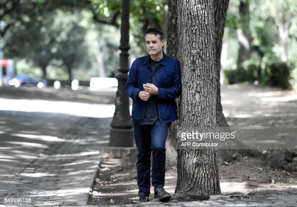 Chilean film director Sebastian Lelio poses during a photocall of his movie 'A fantastic woman''on September 20 2017 in Rome Tiziana FABI / AFP / AFP...