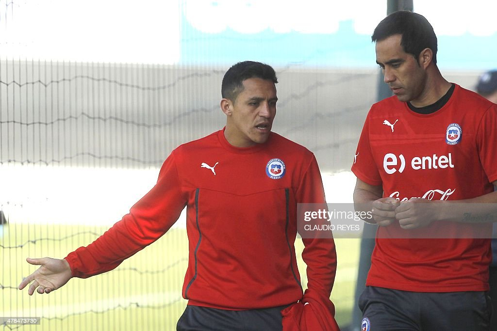 FBL-COPAM2015-CHILE-TRAINING : News Photo