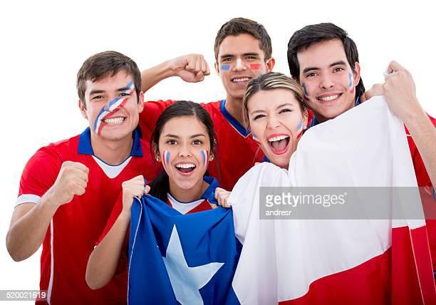 Chilenische Fußball-fans