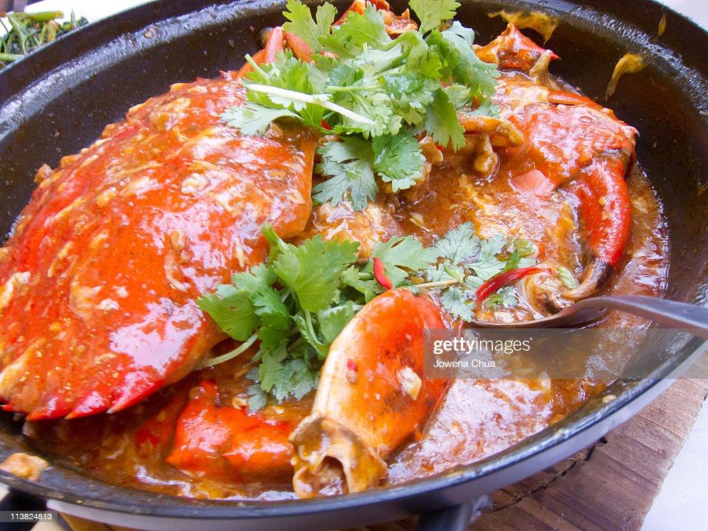 Chili crab : Stock Photo