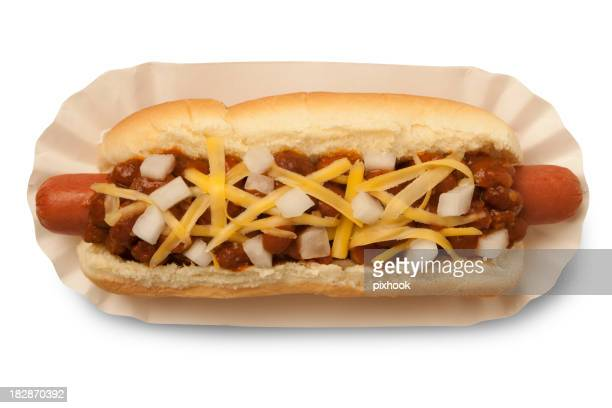 Chili-Hot Dog mit Path
