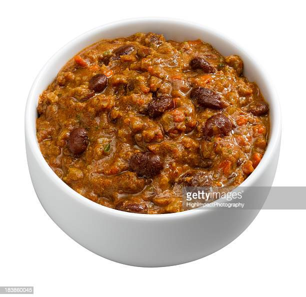 Chili in Bowl