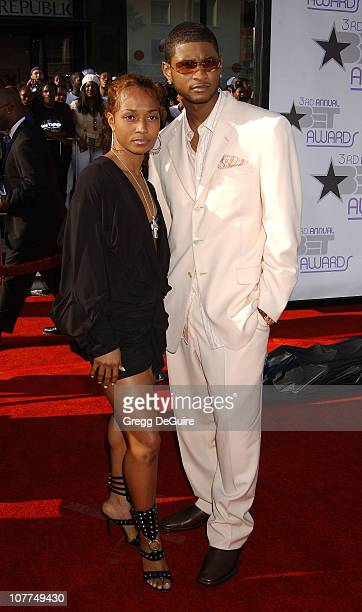 Chili of TLC Usher during The 3rd Annual BET Awards Arrivals at The Kodak Theater in Hollywood California United States