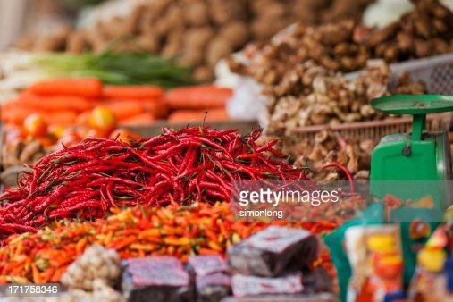 Chili : Stock Photo