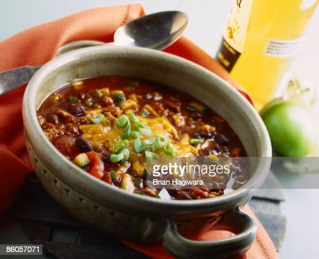 Chili with cheese