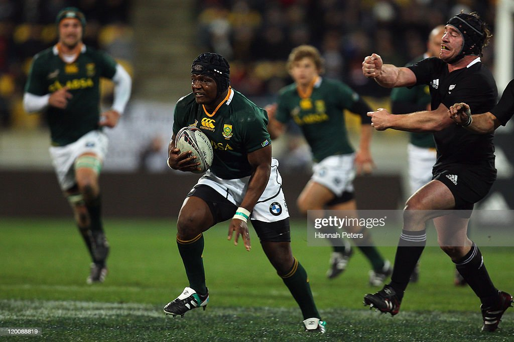 Tri Nations - New Zealand v South Africa