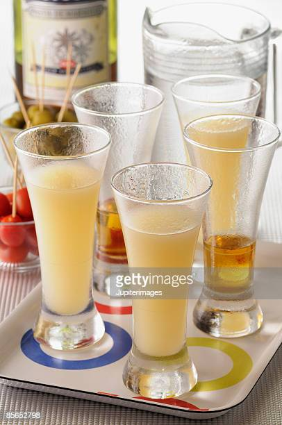 Chilled alcoholic beverages