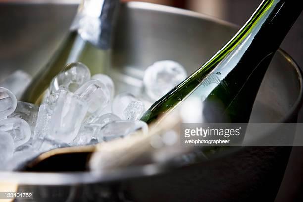 Gekühlter Champagner