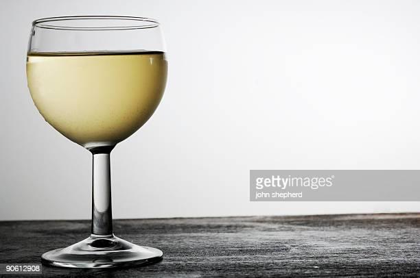 Refrigerados copo de vinho branco, retroiluminado, com espaço para copiar