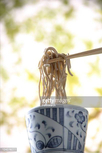Chilled Soba Noodles With Nori