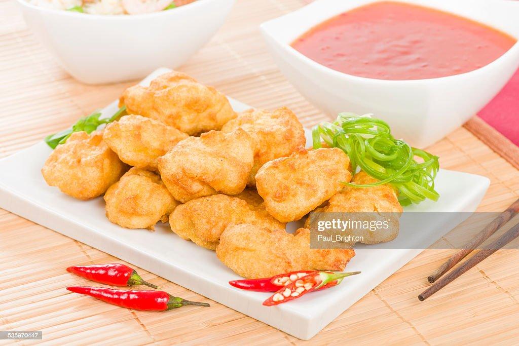 Chilli Chicken : Stock Photo