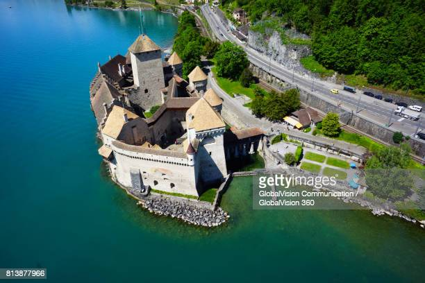 Chillon Castle from above