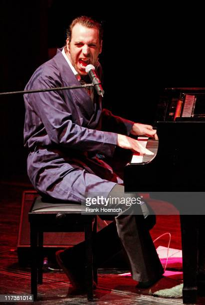 Chilly Gonzales performs live during a concert at the Volksbuehne on June 26 2011 in Berlin Germany