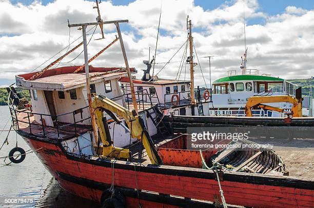 Chiloe fishing boats.