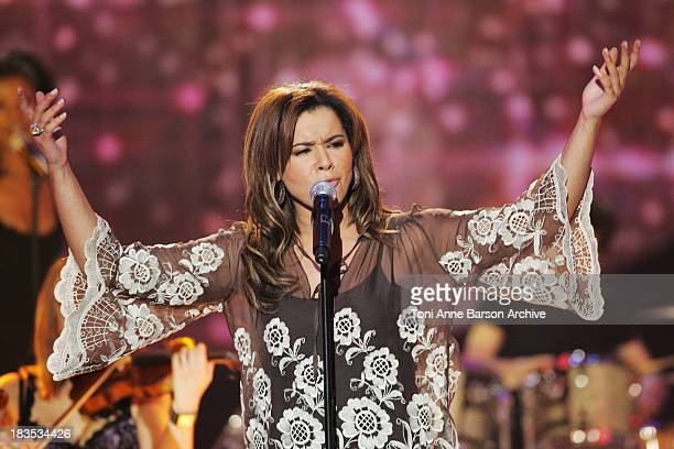 Chimene Badi during La Fete de La Chanson Francaise to be Aired on FRANCE2 on January 27th 2007 at Zenith in Paris France