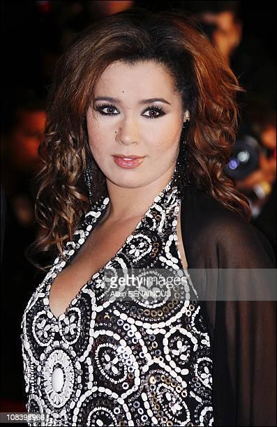 Chimene Badi in Cannes France on January 20 2007