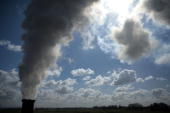 A chimney is seen emitting steam on April 11 Cheshire England The world's population is more environmentally aware now than ever with emissions being...