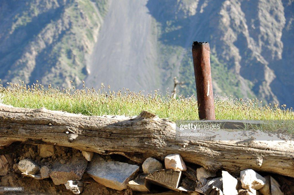 chimney : Foto de stock