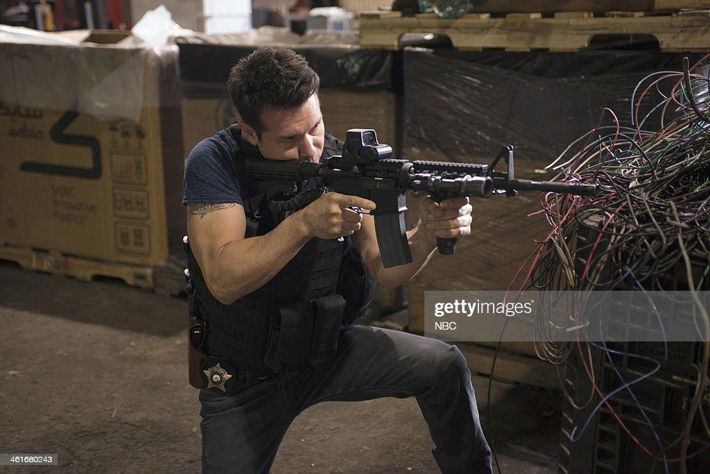 D 'Chin Check' Episode 103 Pictured Jon Seda as Antonio Dawson