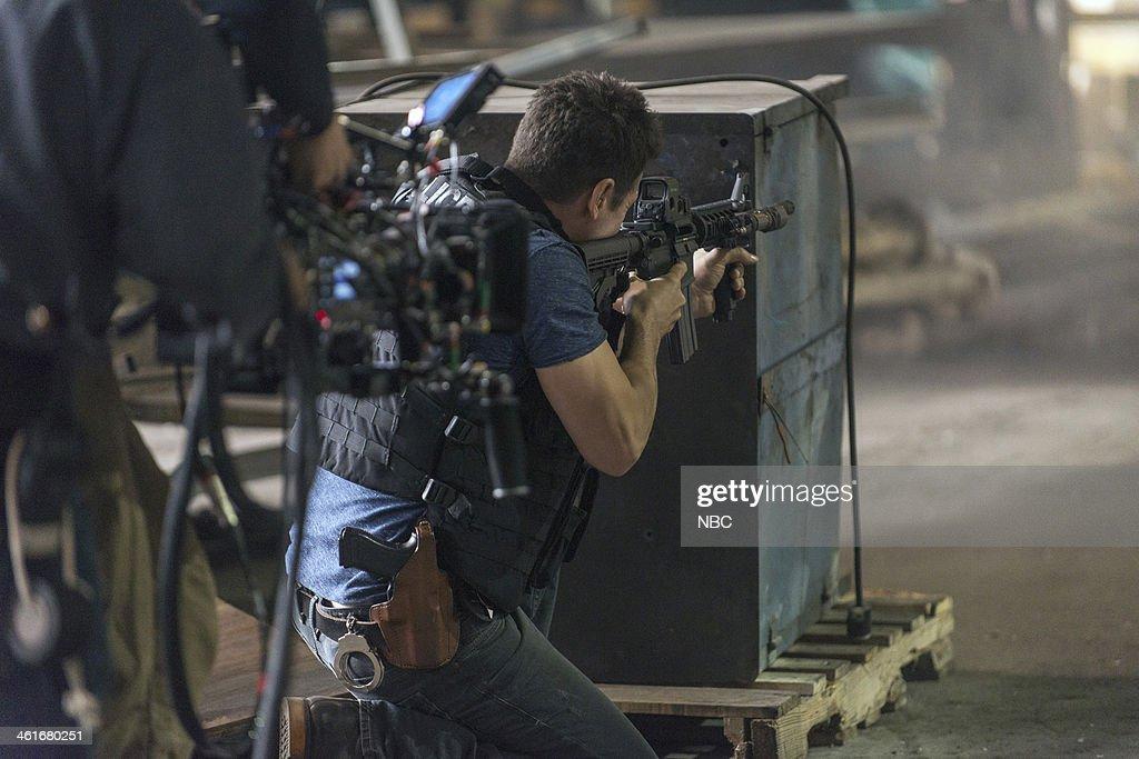 PD 'Chin Check' Episode 103 Pictured Jon Seda as Antonio Dawson