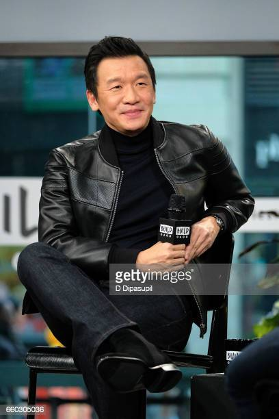 Chin Han attends the Build Series to discuss 'Ghost in the Shell' at Build Studio on March 29 2017 in New York City