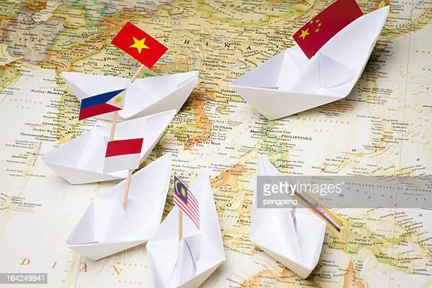 China und Südostasien Länder