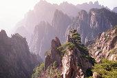 China, Anhul Province, Huang Shan Mountains