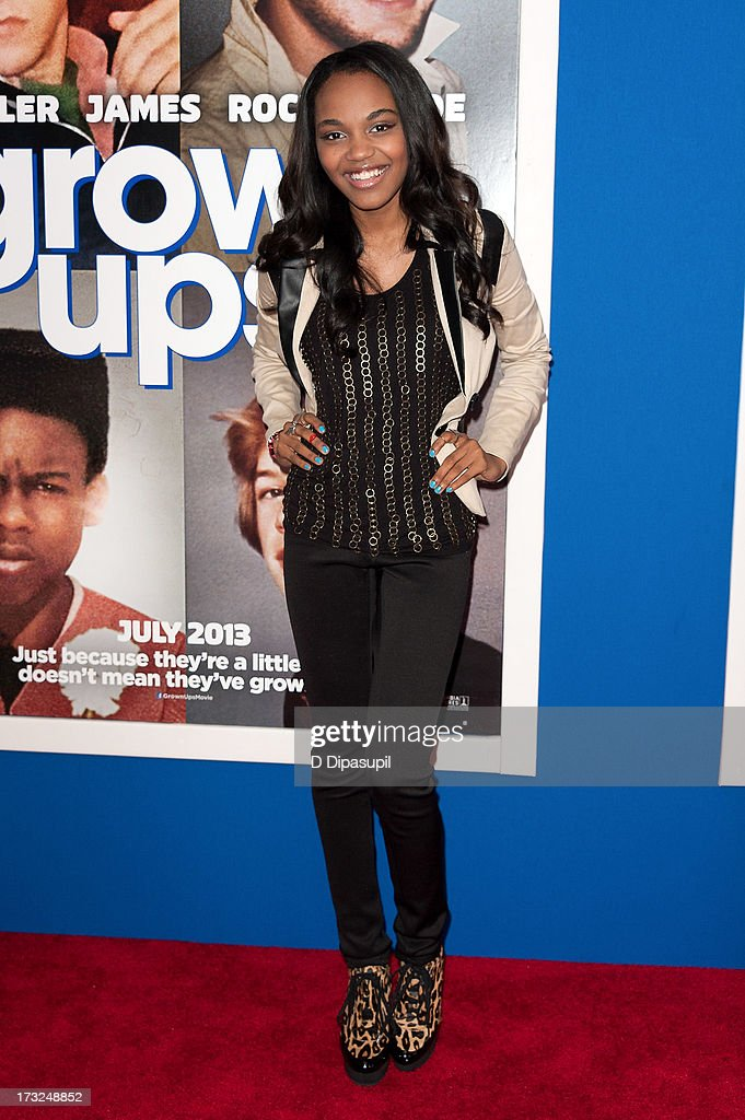 China Anne McClain attends the 'Grown Ups 2' New York Premiere at AMC Lincoln Square Theater on July 10, 2013 in New York City.