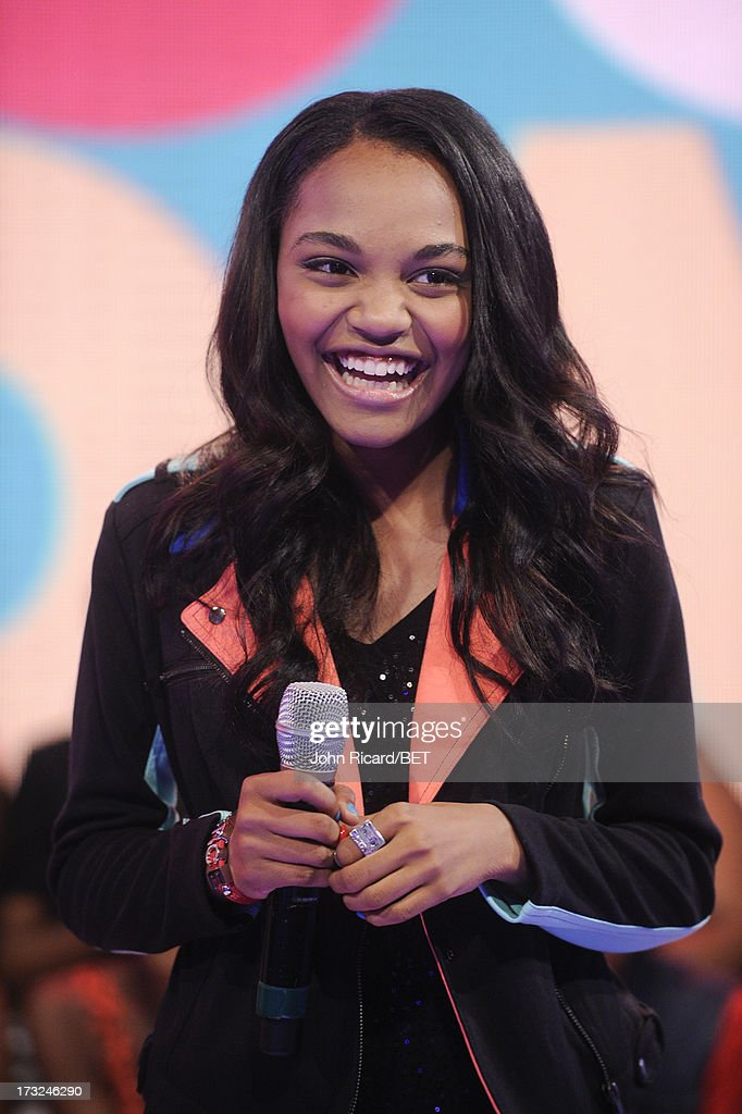 China Anne McClain visits BET's 106 & Park at BET Studios on July 10, 2013 in New York City.