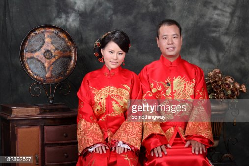 China Bride and Groom