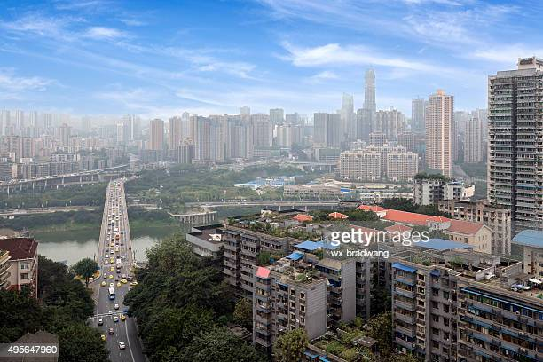 China Chongqing city skyline