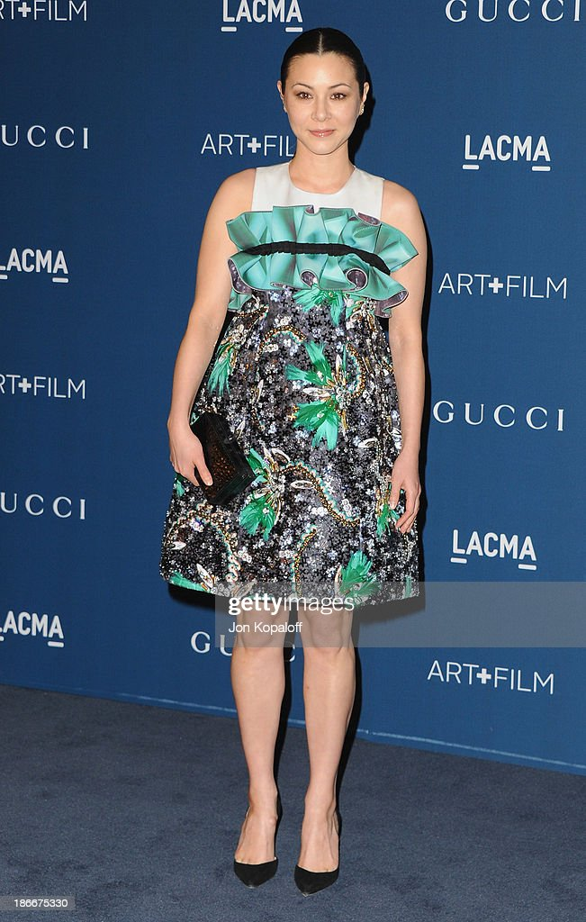 <a gi-track='captionPersonalityLinkClicked' href=/galleries/search?phrase=China+Chow&family=editorial&specificpeople=581526 ng-click='$event.stopPropagation()'>China Chow</a> arrives at LACMA 2013 Art + Film Gala at LACMA on November 2, 2013 in Los Angeles, California.