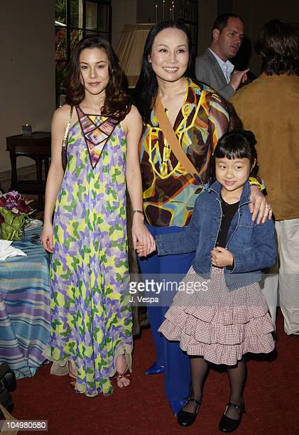 China Chow with mother Eva Chow sister Asia Chow