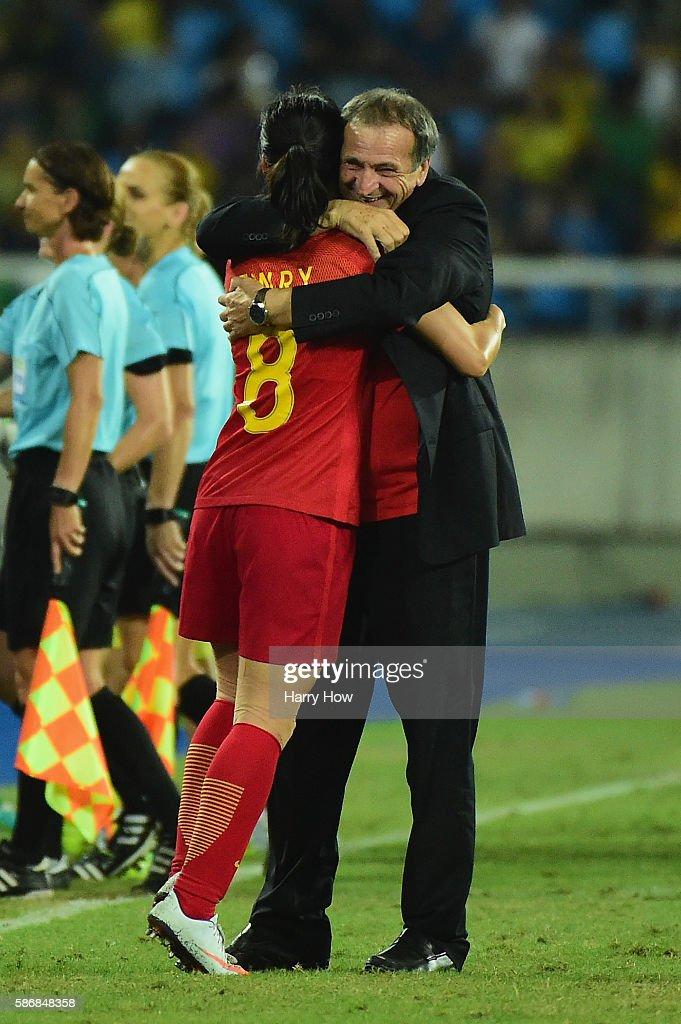 South Africa v China PR: Women's Football - Olympics: Day 1