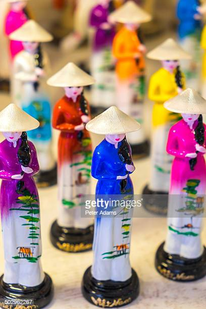 China Figurines in Traditional Dress, Vietnam