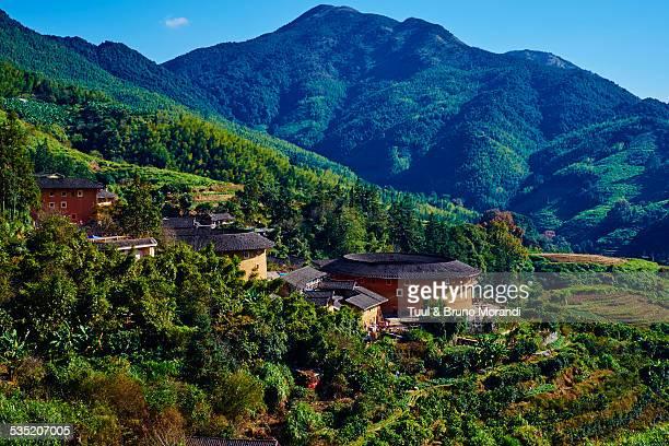 China, Fujian province, Tian Luokeng village