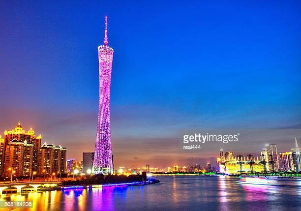 中国広州の街並み