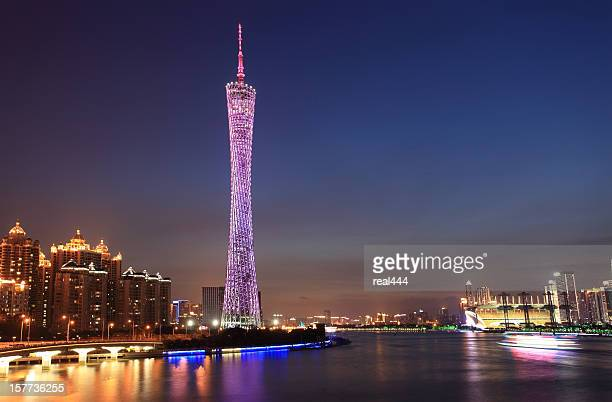 China Guangzhou night view