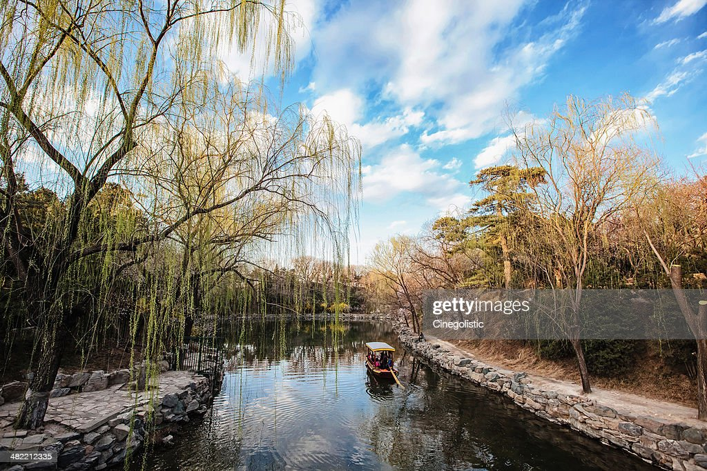 China, Hebei Province, Summer Palace in spring