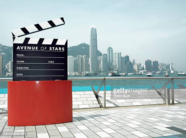 China, Hong Kong, 'Avenue of Stars' clapperboard