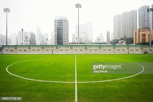 China, Hong Kong, Wan Chai, Happy Valley sports pitch