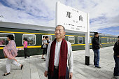 LHASA China Japanese Ambassador to China Uichiro Niwa takes a break at Naqu Station in the Tibetan autonomous region of China on Aug 17 on his way to...