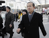 BEIJING China Lim Sung Nam South Korea's top nuclear envoy arrives at Beijing international airport on Dec 22 2011 Lim held talks the same day with...