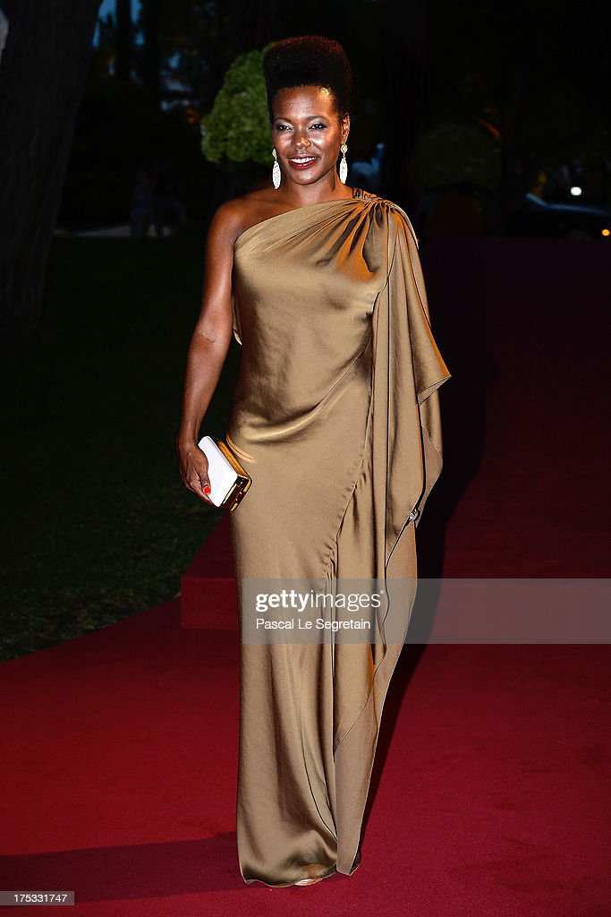 China Moses attends the 65th Monaco Red Cross Ball Gala at Sporting Monte-Carlo on August 2, 2013 in Monte-Carlo, Monaco.